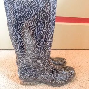 Toms Women's Black Rainboots Size 7